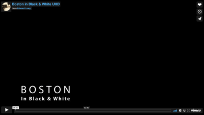 BOSTON IN BLACK & WHITE